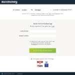 Erster Schritt Antragstellung auxmoney Kredit von Privat