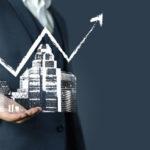 Beitragsgrafik zum Thema Bauzinsen und Zinsmarge