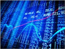 Börsenstände und Indextafel