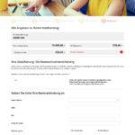 Achter Schritt Antragstellung carcredit.de Autokredit
