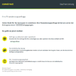 Vierter Schritt Antragstellung comdirect Baufinanzierung