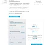 Consorsbank Baufinanzierung Antrag Screenshot 1