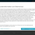 Consorsbank Baufinanzierung Antrag Screenshot 2