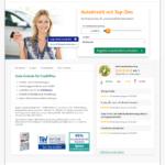Erster Schritt Antragstellung CreditPlus Bank Autokredit