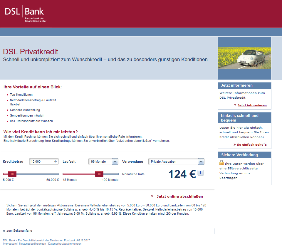 dsl bank auszahlung email