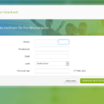 Vierter Schritt Antragstellung Fidor Bank Privatkredit