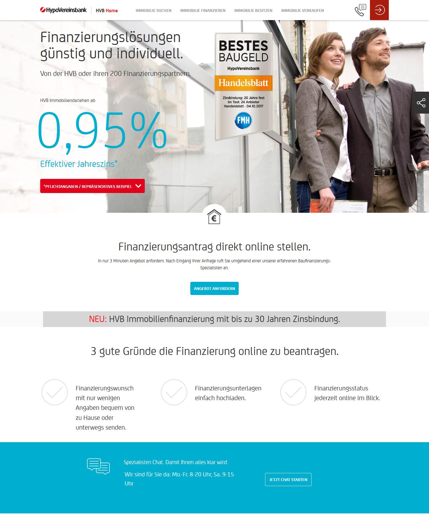 Hypovereinsbank Baufinanzierung Test Und Erfahrungsberichte 012019