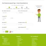 immo-finanzcheck.de Baufinanzierung Antrag Screenshot 2