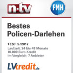 Siegel für Testsieger von N-TV und FMH