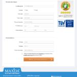 Erster Schritt Antragstellung Maxda Kredit ohne SCHUFA