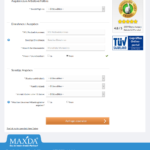 Zweiter Schritt Antragstellung Maxda Kredit ohne SCHUFA