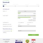 Erster Schritt Antragstellung netbank Kredit für Selbständige