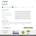 Siebter Schritt Antragstellung netbank Kredit für Selbständige