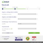 Achter Schritt Antragstellung netbank Kredit für Selbständige