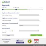 Siebter Schritt Antragstellung netbank Privatkredit