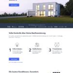 Erster Schritt Antragstellung NIST Baufinanzierung