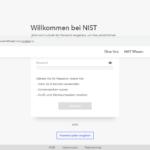 Elfter Schritt Antragstellung NIST Baufinanzierung