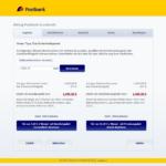 Dritter Schritt Antragstellung Postbank Autokredit