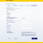 Sechster Schritt Antragstellung Postbank Autokredit