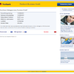 Siebter Schritt Antragstellung Postbank Kredit für Selbständige