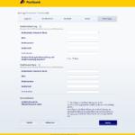 Siebter Schritt Antragstellung Postbank Privatkredit