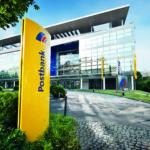Eingang der Postbank Zentrale Bonn