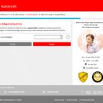 S-Kreditpartner Autokredit Antrag Screenshot 4