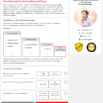 S-Kreditpartner Autokredit Antrag Screenshot 7