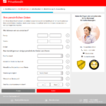 S-Kreditpartner Privatkredit Antrag Screenshot 2