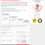 S-Kreditpartner Privatkredit Antrag Screenshot 6