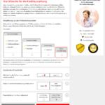 S-Kreditpartner Privatkredit Antrag Screenshot 6