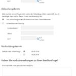 Sechster Schritt Antragstellung Deutsche Skatbank Privatkredit