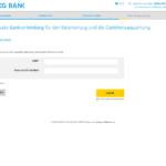 Siebter Schritt Antragstellung SKG Bank Privatkredit