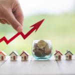 Die Summe von Baufinanzierungen steigt