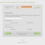 Fünfter Schritt Antragstellung SWK Bank Autokredit
