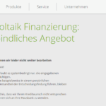 Achter Schritt Antragstellung SWK Bank Modernisierungskredit