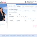 Zweiter Schritt Antragstellung TARGOBANK Autokredit