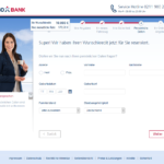 Sechster Schritt Antragstellung TARGOBANK Autokredit