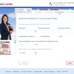 Zehnter Schritt Antragstellung TARGOBANK Kredit für Selbständige