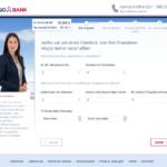 Dritter Schritt Antragstellung TARGOBANK Kredit für Selbständige
