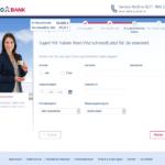 Sechster Schritt Antragstellung TARGOBANK Kredit für Selbständige
