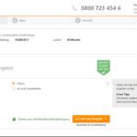 Verivox Privatkredit Antrag Screenshot 2
