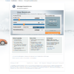 Erster Schritt Antragstellung Volkswagen Bank Privatkredit